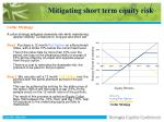mitigating short term equity risk