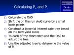 calculating p and p