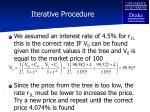 iterative procedure