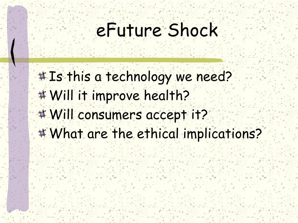 eFuture Shock