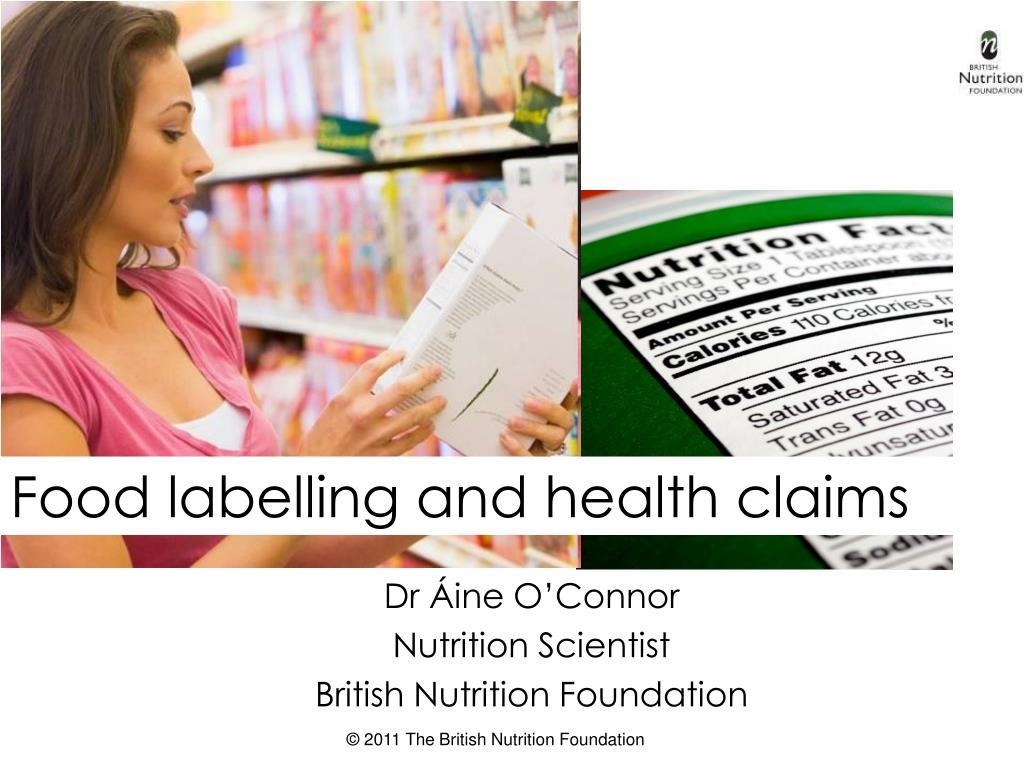 dr ine o connor nutrition scientist british nutrition foundation