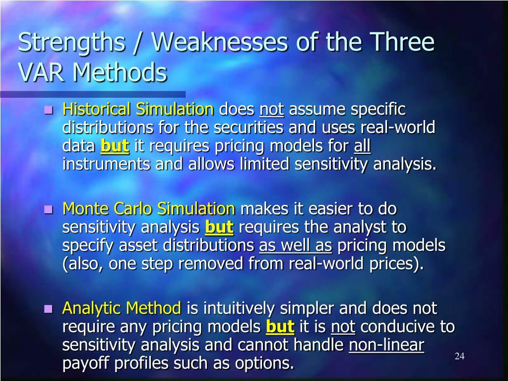 the three methods of analysis