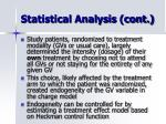 statistical analysis cont10