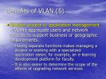 benefits of vlan 5