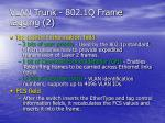 vlan trunk 802 1q frame tagging 2