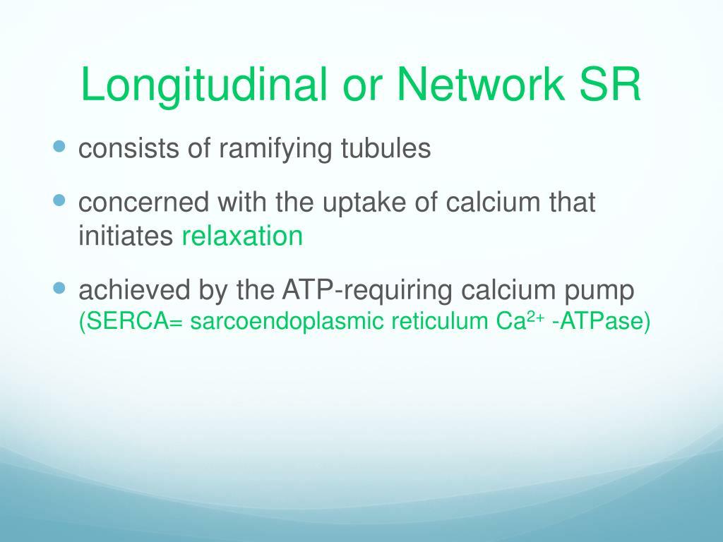 Longitudinal or Network SR
