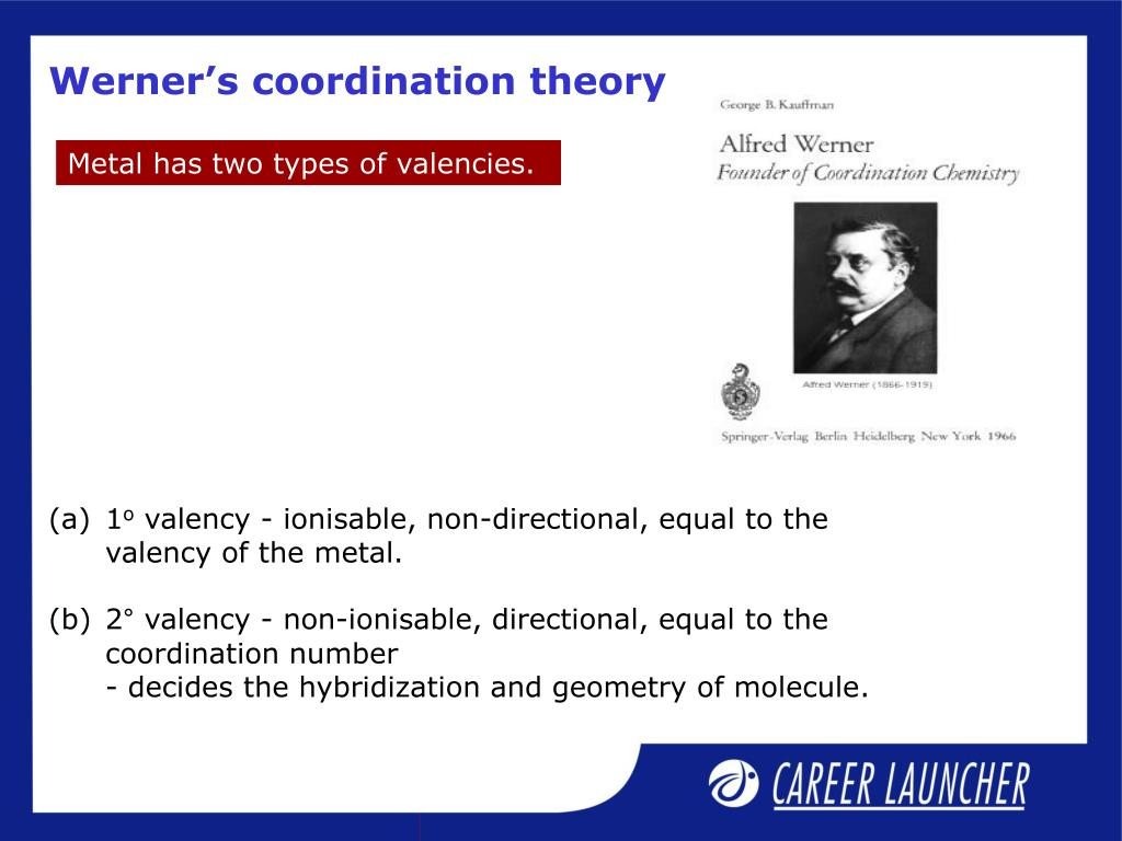 Werner's coordination theory