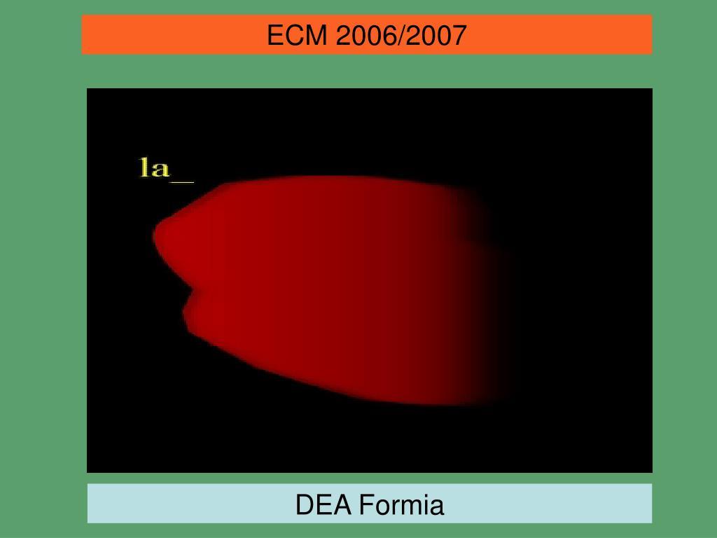ECM 2006/2007