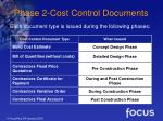 phase 2 cost control documents15