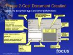 phase 2 cost document creation17