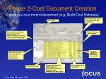 phase 2 cost document creation18