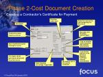 phase 2 cost document creation19