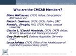 who are the cmcab members