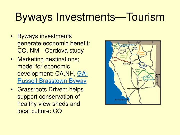 Byways Investments—Tourism