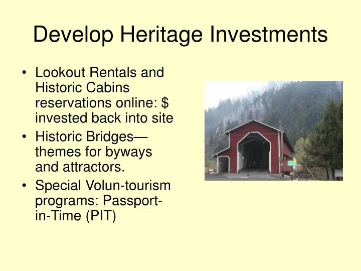 Develop Heritage Investments