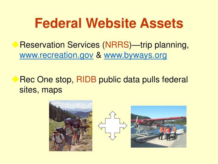 Federal Website Assets