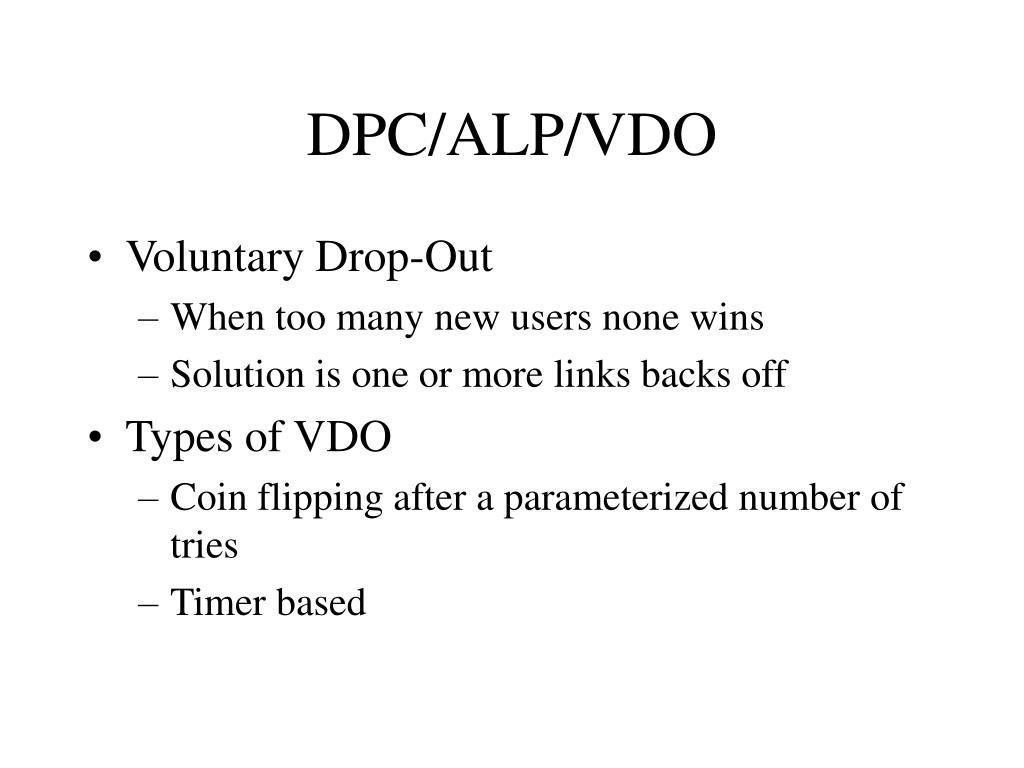 DPC/ALP/VDO