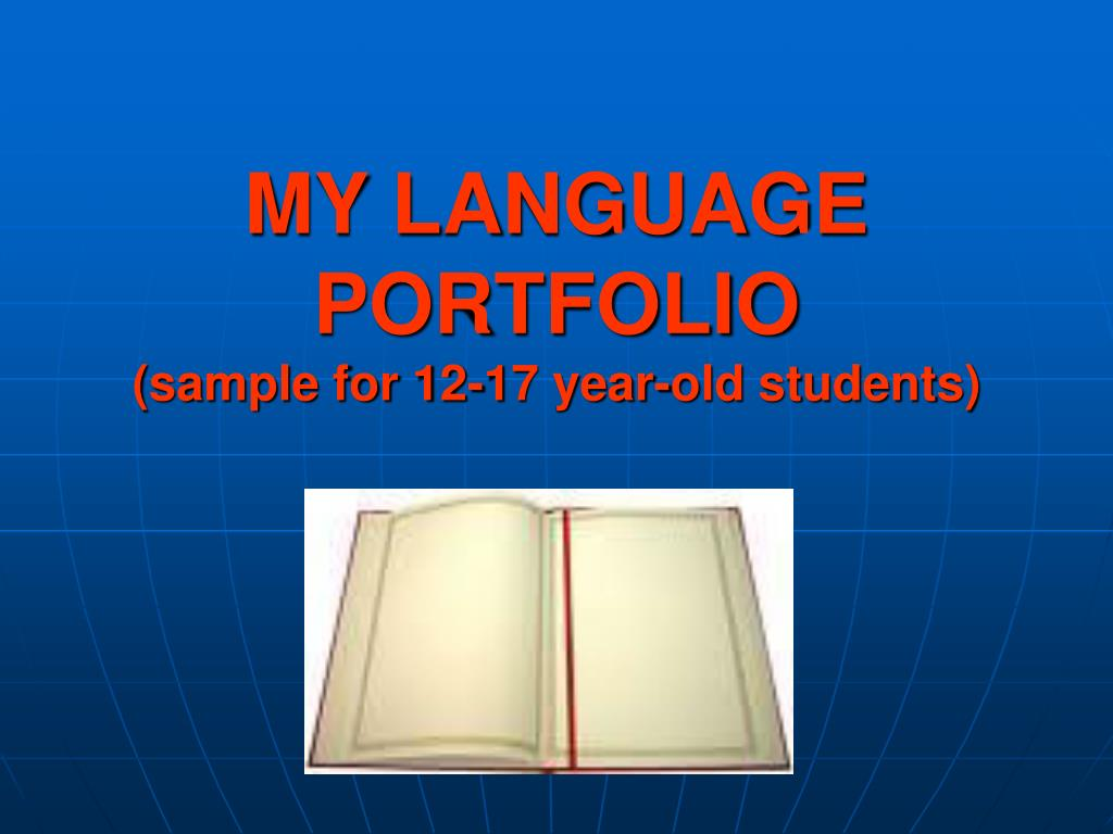 MY LANGUAGE PORTFOLIO