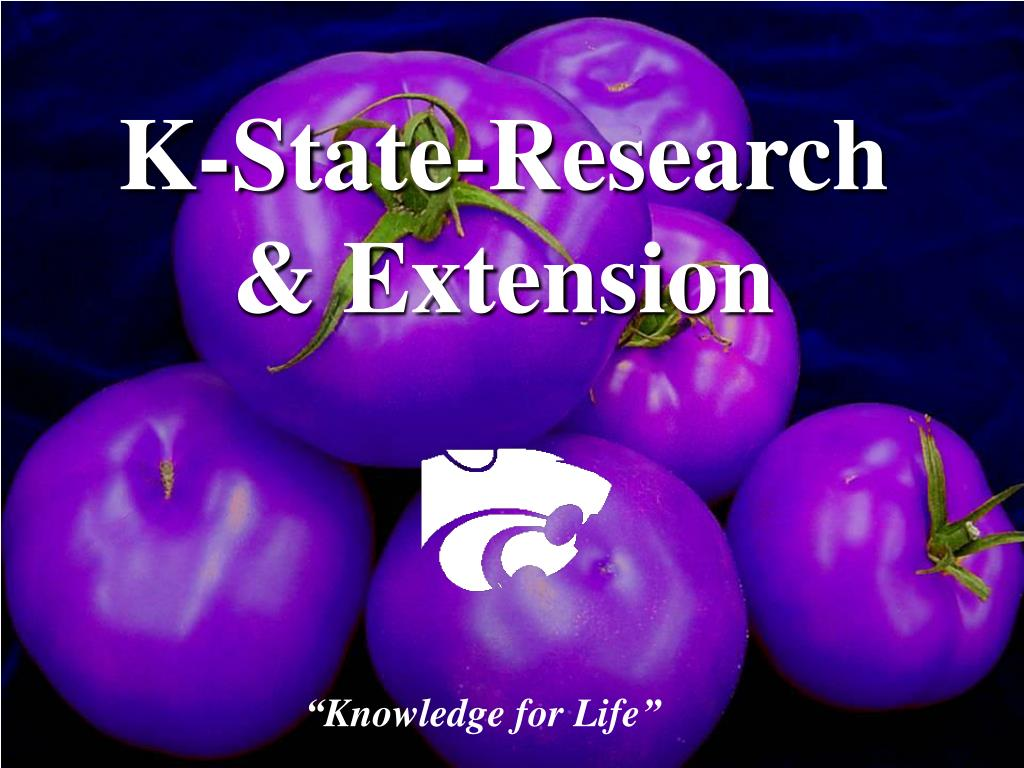 K-State-Research & Extension