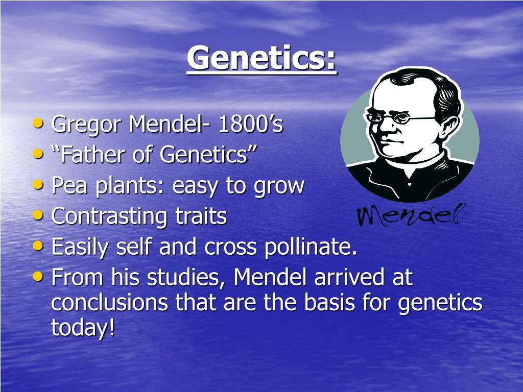 Genetics: