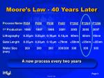 moore s law 40 years later