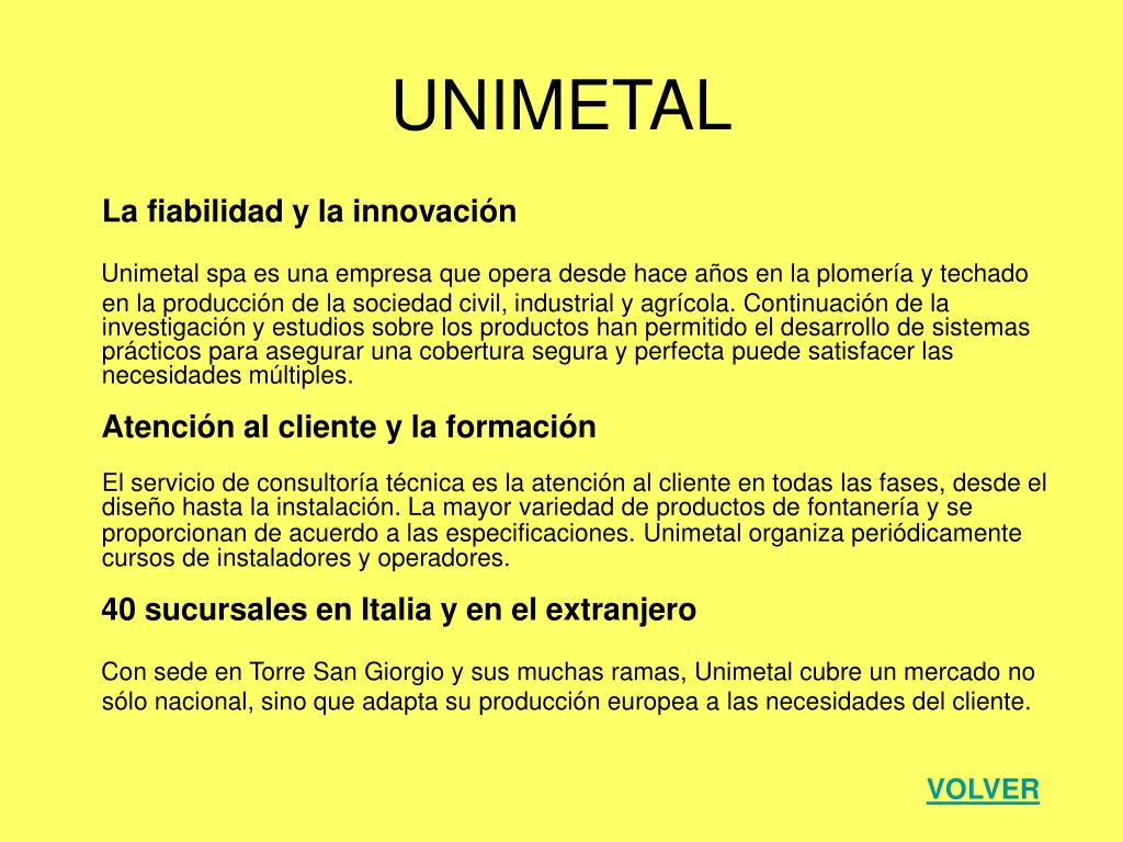 UNIMETAL