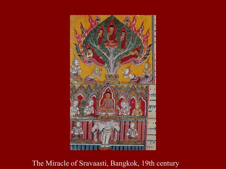 The Miracle of Sravaasti, Bangkok, 19th century