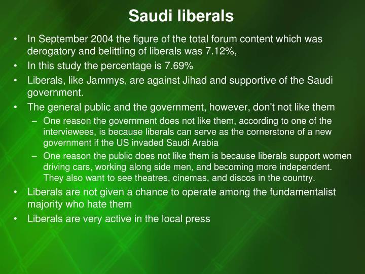 Saudi liberals