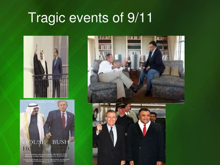 Tragic events of 9/11