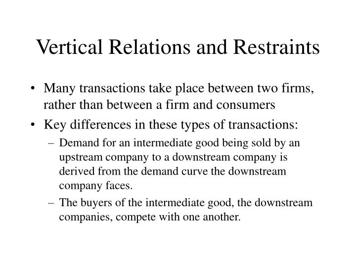Vertical relations and restraints l.jpg