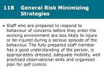 118 general risk minimizing strategies