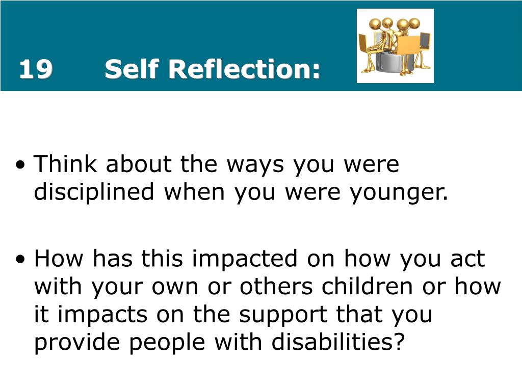 19Self Reflection: