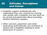 25 attitudes perceptions and values