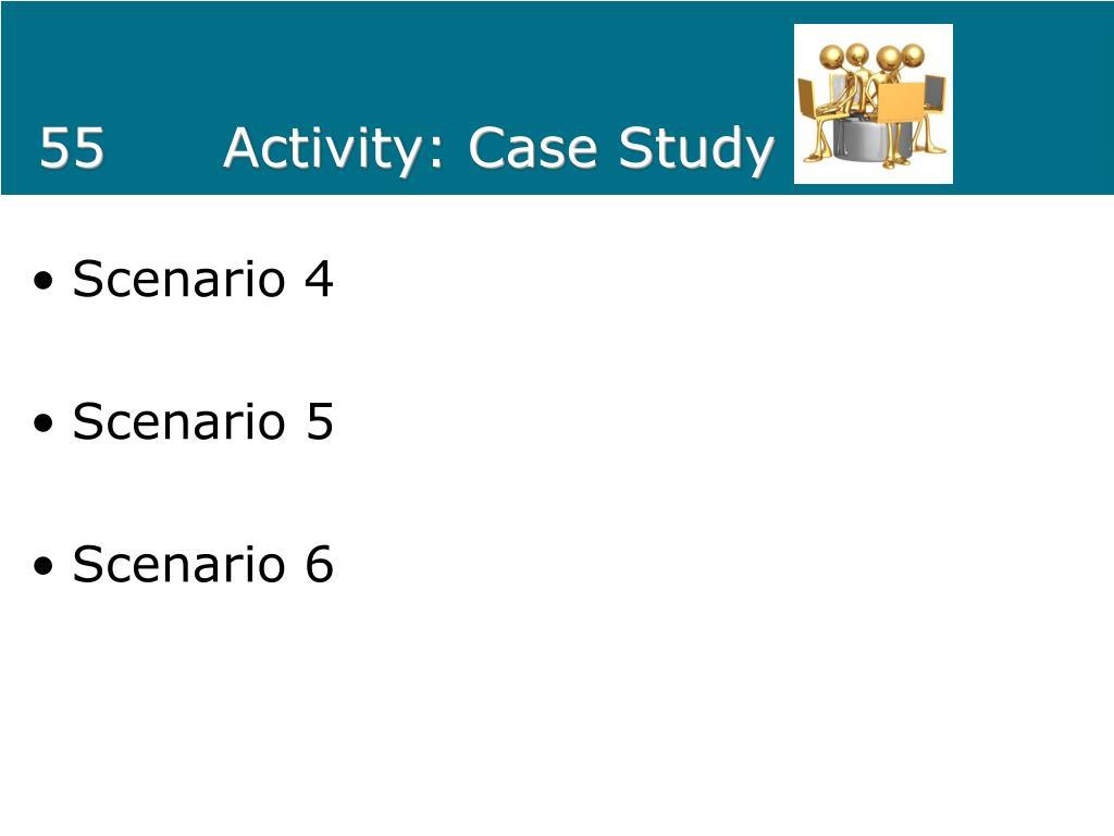 55Activity: Case Study