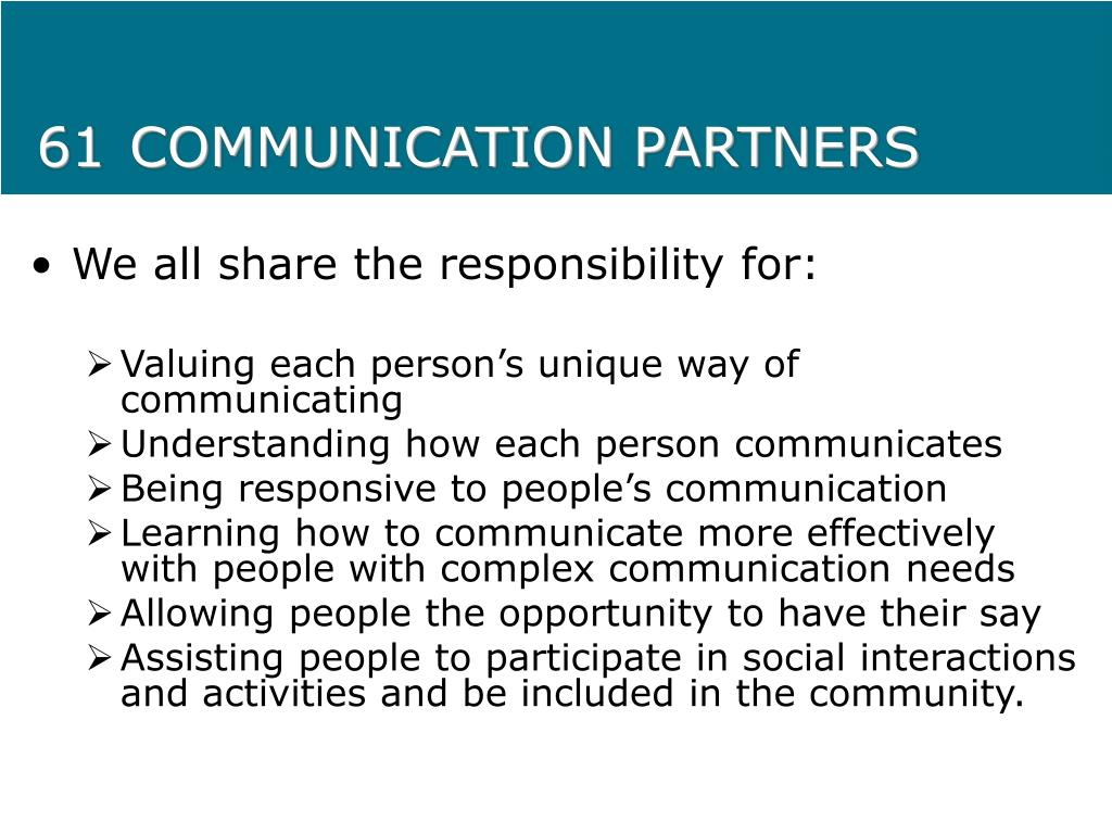 61COMMUNICATION PARTNERS
