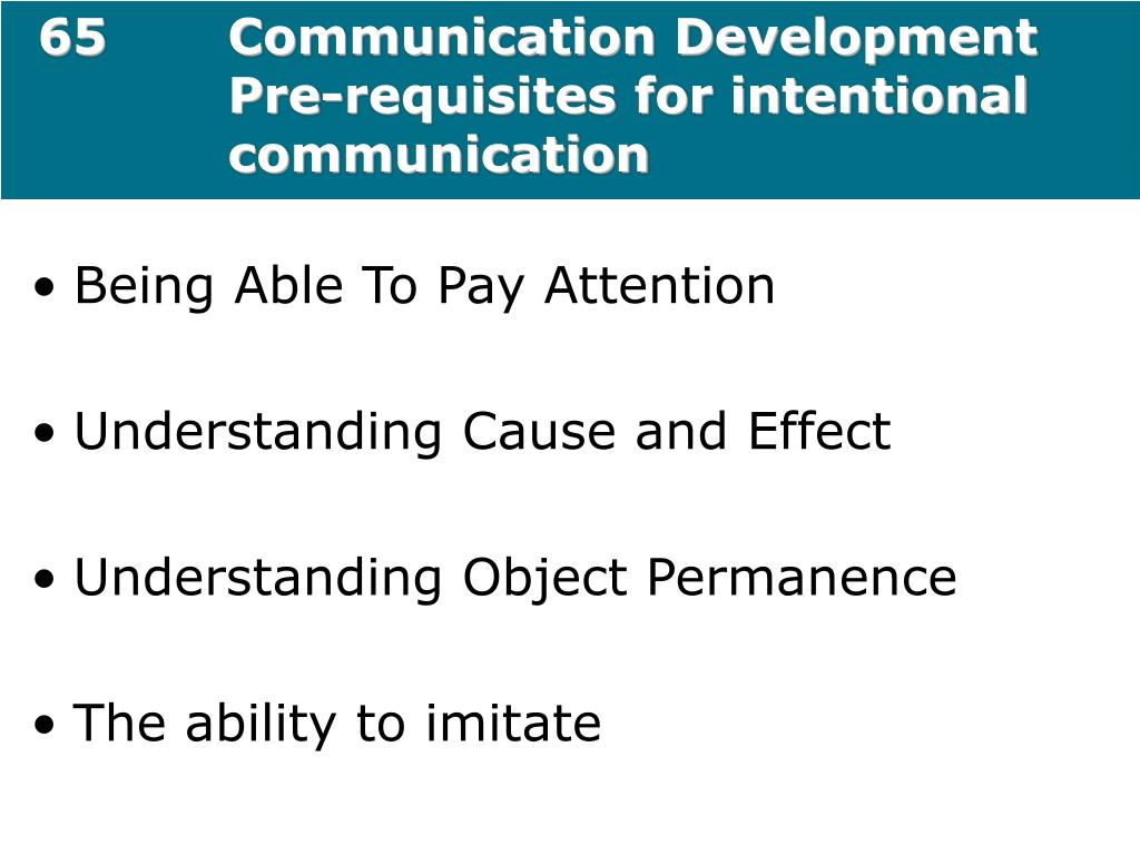 65Communication Development