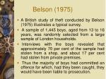 belson 1975