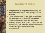evaluative points18