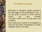 evaluative points29