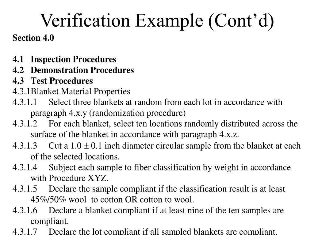 Verification Example (Cont'd)