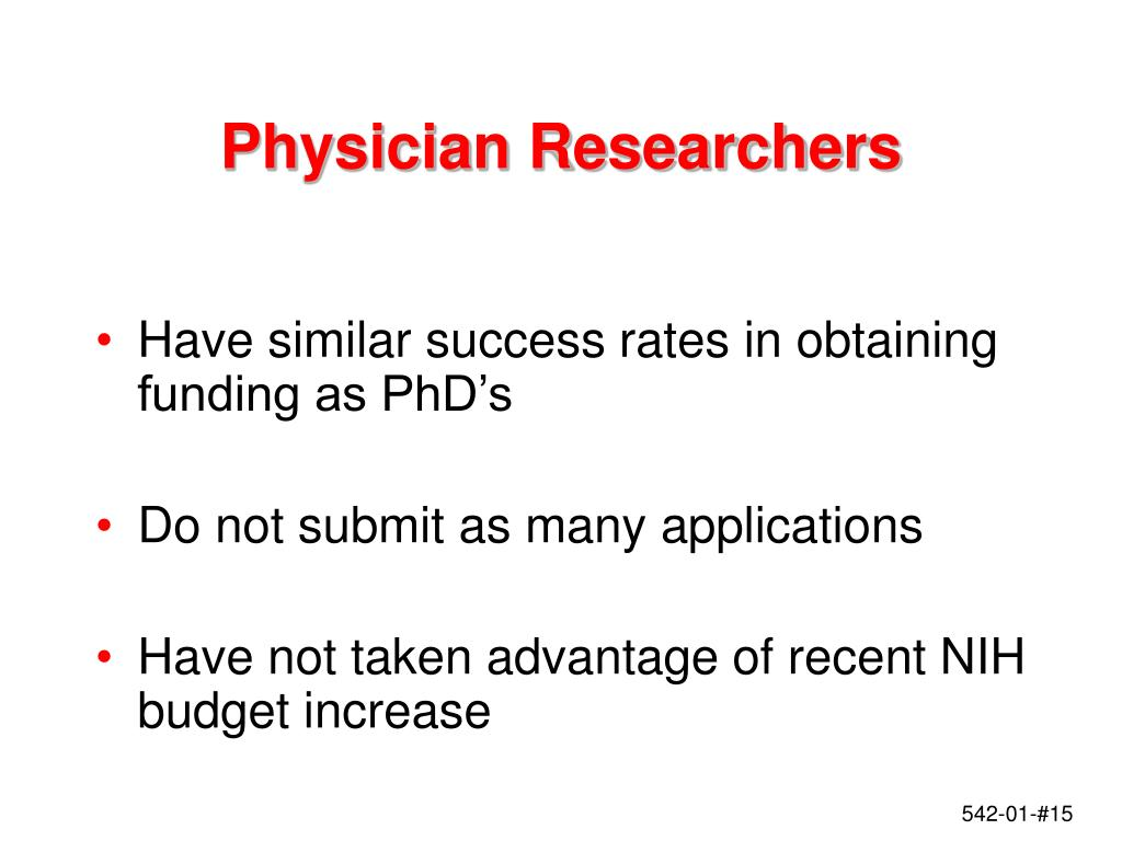 Physician Researchers