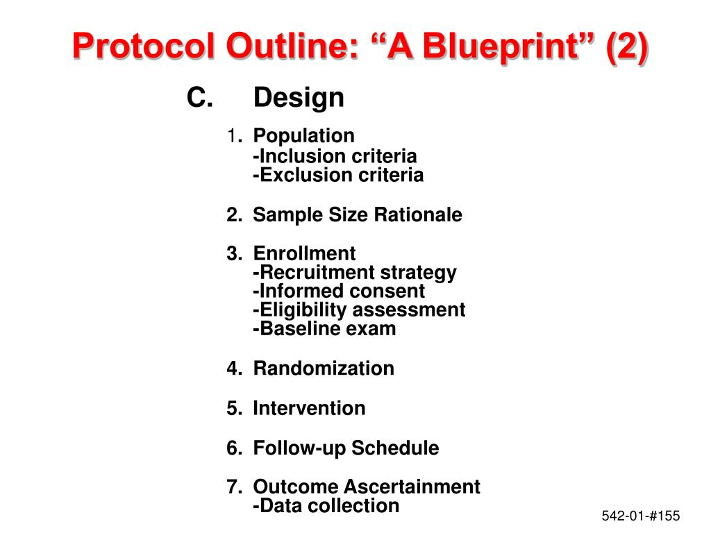 "Protocol Outline: ""A Blueprint"" (2)"