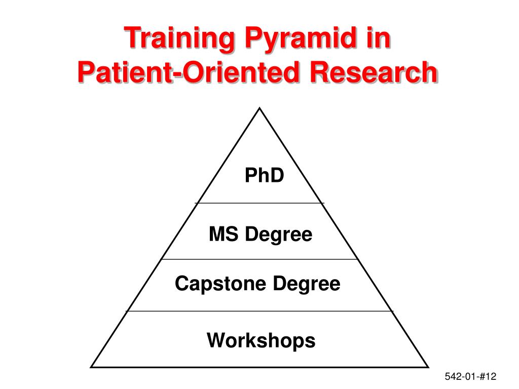 Training Pyramid in
