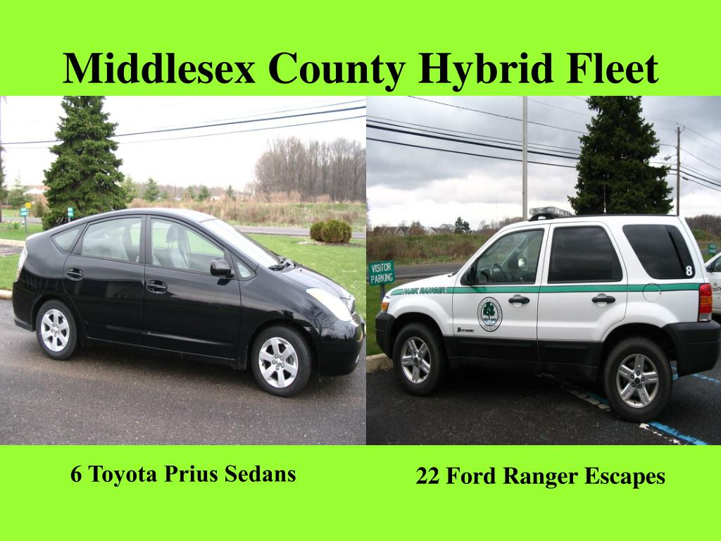 Middlesex County Hybrid Fleet