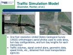 traffic simulation model guensler hunter et al