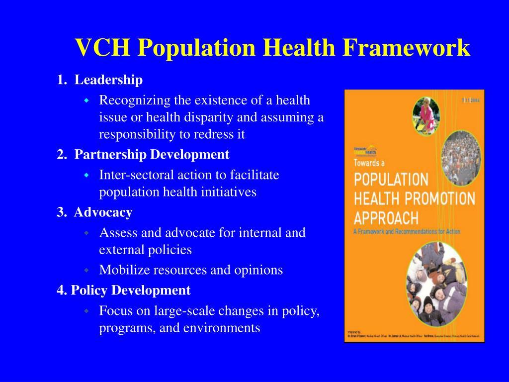 VCH Population Health Framework