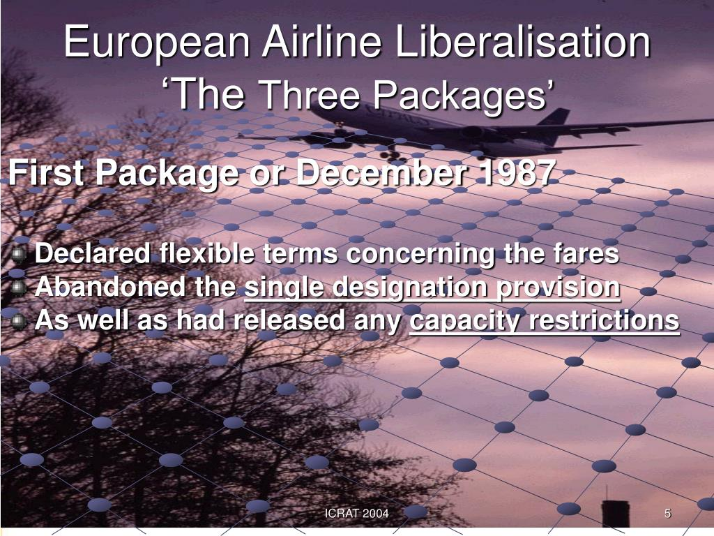 European Airline Liberalisation