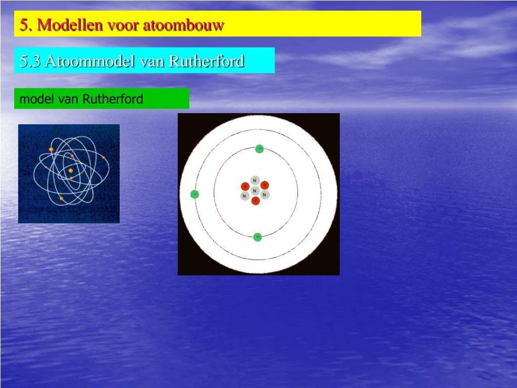 PPT - Thema 4: Verfijning van het materiemodel: atomen en ...