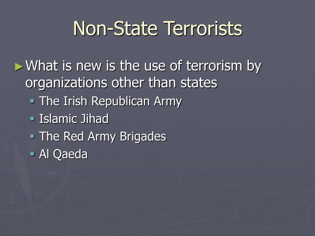 Non-State Terrorists
