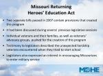 missouri returning heroes education act8